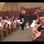 ある結婚式での一コマ!登場の仕方、面白すぎでしょ!!ww