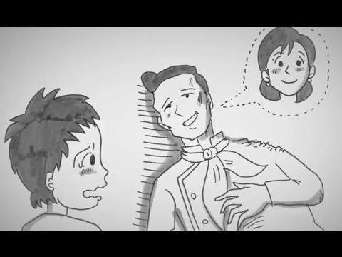 父の思いに涙!鉄拳のパラパラ漫画『約束』に心打たれる